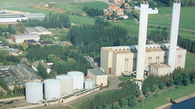 Maris Machines Power Plant